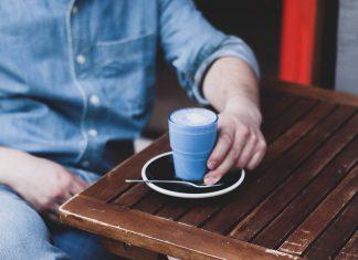 El 'blue latte' ha llegado a Religion Coffee