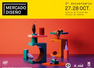 Mercado de Diseño celebra su 5º aniversario en el Palacio de Cibeles
