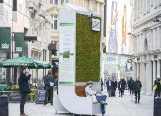 Un árbol artificial para purificar el aire