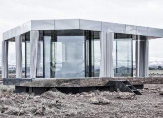Špela Videčnik y la vivienda de vidrio
